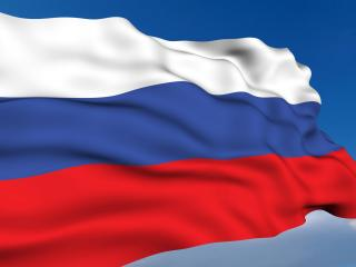 обои Российский флаг фото