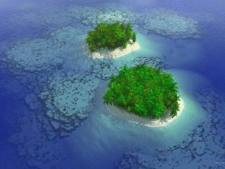 обои Archipelago seas фото