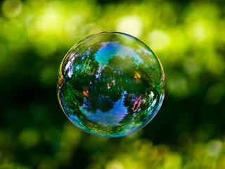 обои Мыльный пузырь фото