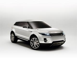 обои Белый land rover кроссовер фото