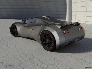 обои Ferrari Verus 4 фото