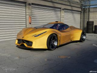 обои Honda FXR concept фото