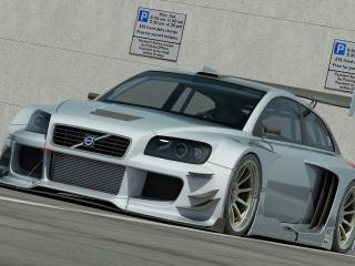 обои Volvo C30 Racer from Vizualtech Design фото