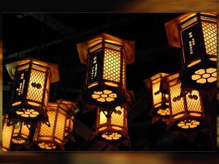 обои Японсике фонарики фото