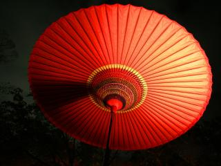 обои Японский фонарь фото