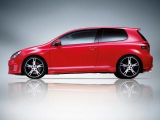 обои Volkswagen Golf VI Side фото