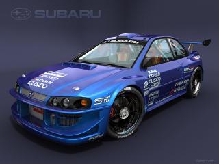 обои Subaru WRX Custom by dangeruss фото