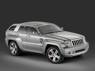 обои Jeep-Trailhawk-Concept Side Angle фото