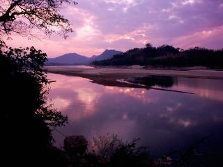 обои Khan River, Luang Prabang, Laos фото