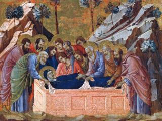 обои Маэста. Положение Марии во гроб фото