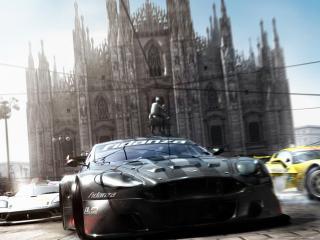 обои для рабочего стола: GRID Aston Martin
