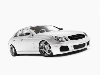 обои Mercedes Benz CLS White Label Front And Side Tilt фото