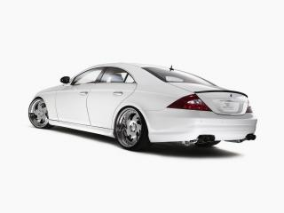 обои Mercedes Benz CLS White Label Rear And Side фото