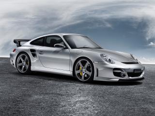 обои Porsche 997 Turbo frontside фото