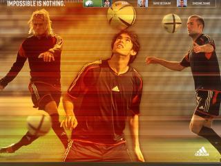 обои Футболисты любят адидас фото