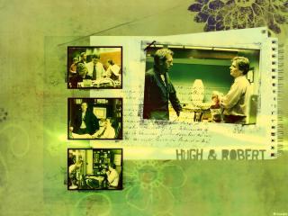 обои Doctor House and Doctor Wilson фото