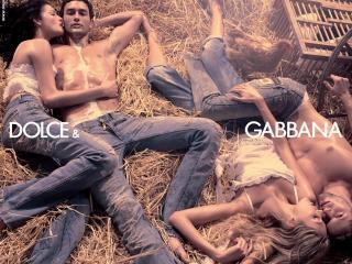 обои DolceGabbana джинсовая одежда фото