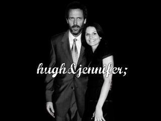 обои Hugh and jenifer фото
