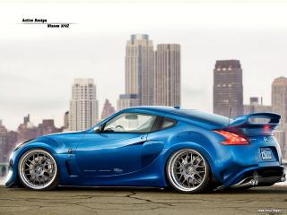 обои Nissan 370Z Active Design фото