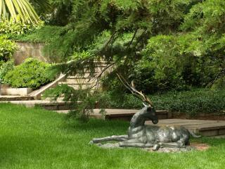обои Красивая скульптура в парке фото