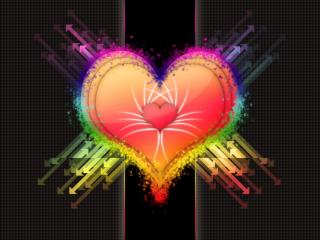 обои Сердце и стрелки фото