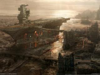обои Fallout 3 Rivet City фото