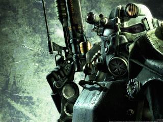 обои Fallout 3 Паладин из братсва стали фото