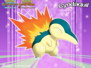 обои Pokemon - Cyndaquil фото