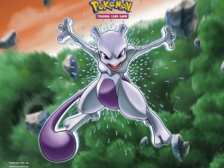 обои Genetic Pokemon Mewtwo фото
