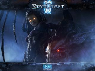 обои Games Epic saga Starcraft II фото