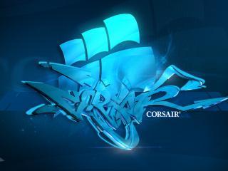 обои Надпись corsair фото