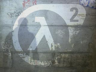 обои Half-Life граффити фото