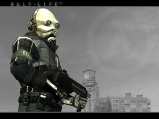 обои Солдат армии Альянса с оружием фото