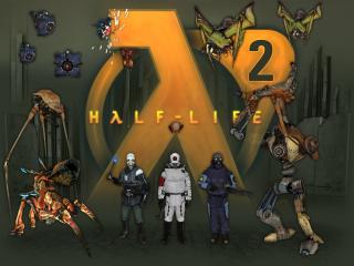 обои Персонажи Half-Life 2 фото