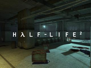 обои Half-Life 2 помещение фото