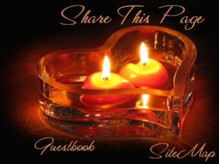 обои Горящие свечи на подставке сердцем фото