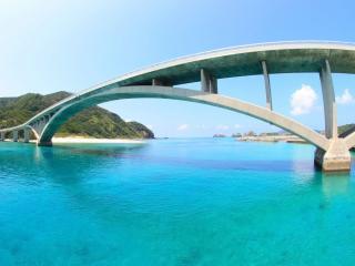 обои Мост Окинава в Японии фото
