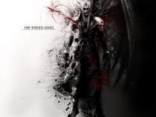 обои Sephiroth - One winged Angel фото