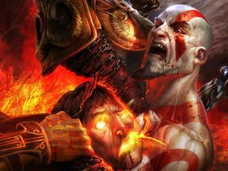 обои Games God of War фото