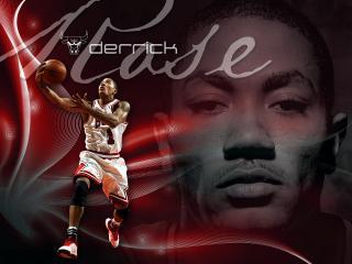 обои Баскетболист Derrick фото