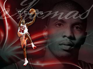 обои Баскетболист Tyrus фото