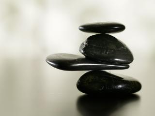 обои Черные камни фото