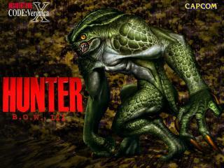 обои Resident Evil - зеленый мутант фото