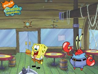 обои Спанч-Боб и Крабс фото
