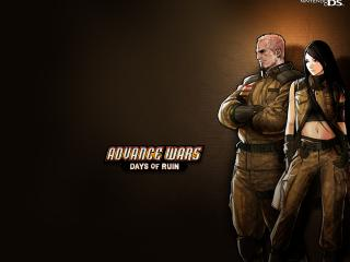 обои Games Advanced Wars Nintendo DC фото