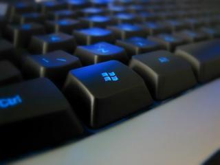 обои Клавиатура с подсветкой фото