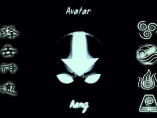 обои Avatar - лысый парень светящейся в темноте фото