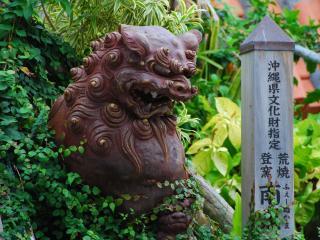 обои Японская статуя фото