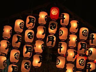обои Японские фонарики фото