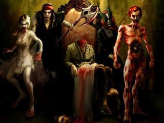 обои Кровавая семейка фото